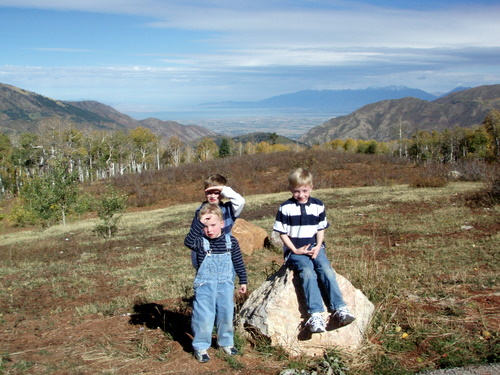 Top of Payson Canyon