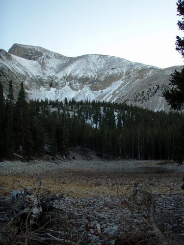 Teresa Lake, elevation 10,230 feet
