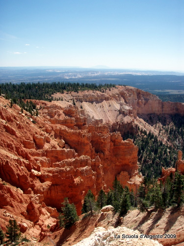 Bryce Canyon with Grand Staircase-Escalante in the distance