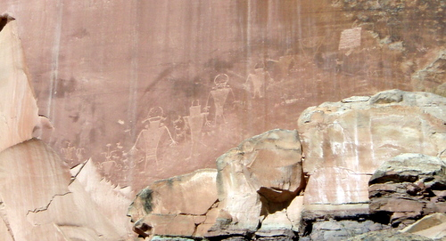 Petroglyphs at Capitol Reef Nat'l Park
